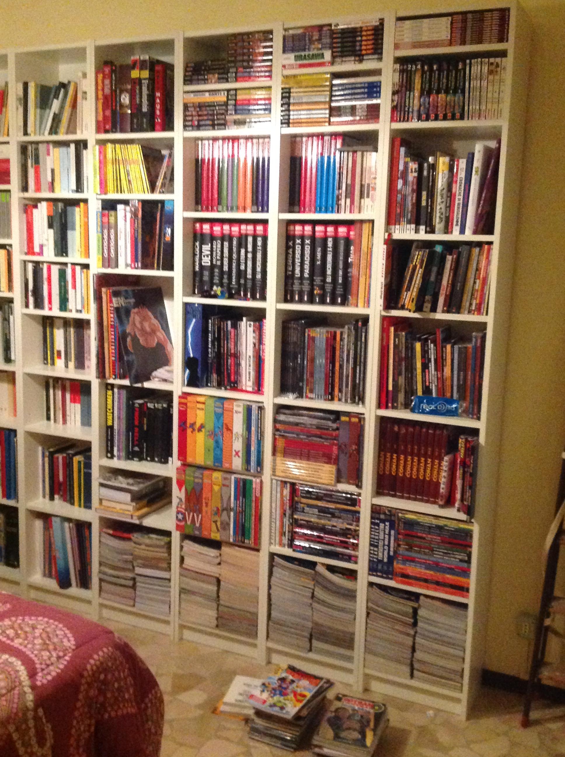 Libreria e fumetti organizzazione e cuore nerdsopolis - Organizzare le pulizie di casa quando si lavora ...